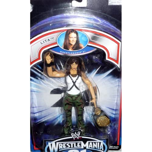 LITA   WWE Wrestling Exclusive Wrestlemania 21 PPV Figure