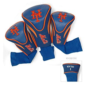 MLB New York Mets Contour Head Cover (Pack of 3), Orange by Team Golf