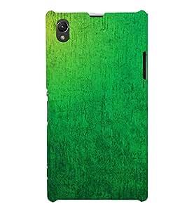 EPICCASE Leaf geen Mobile Back Case Cover For Sony Xperia Z1 (Designer Case)
