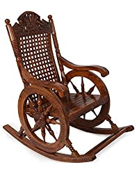 Shilpi Wooden Rocking Chair