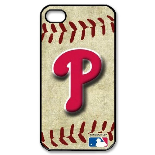 First Design Funny MLB Philadelphia Phillies Printed Best Durable Hard Iphone 4/4s Case Vintage Edition at Amazon.com