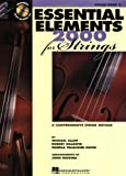Essential  Elements 2000 Violin Book 2 Bk/CD