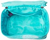 aBaby Maddie Cosmetic Bag, Aqua, Name Amelia