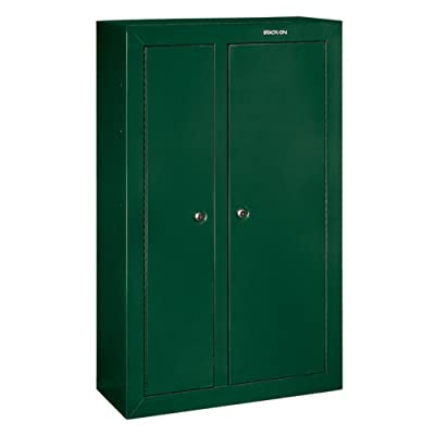 Stack-On-GCDG-924-10-Gun-Double-Door-Steel-Security-Cabinet-with-green-color
