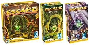 Queen Games 70020 - Escape Bundle mit Illusions und Quest