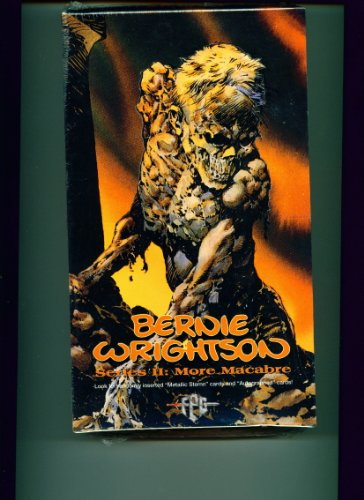 Bernie Wrightson Series II More Macabre Fantasy Art Trading Cards Box
