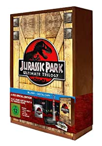 Jurassic Park Ultimate Trilogy - Special Edition in limitierter Holzbox [Blu-ray]