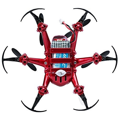 JJRC-H20-Tiny-24G-6-Axis-Gyro-4CH-RC-Quadcopter-Drone-Hexacopter-Headless-Mode-RTF