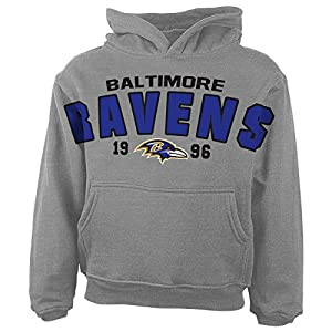NFL Baltimore Ravens Toddler Over Sized Hoodie from Outerstuff/Adidas Licensed Youth Apparel