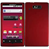 Red Hard Case Cover for Motorola Triumph WX435