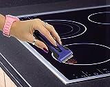 Premium Glas / Ceran Kochfeld Schaber Reiniger - Ergonomischer CERANFELDSCHABER (Schaber ergonomisch)