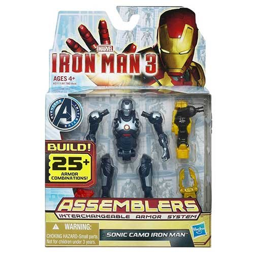 Iron Man 3 Assemblers Sonic Camo Iron Man 3.75 inch Action Figure - 1