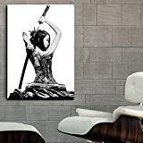 Poster-Mural-Geisha-Samurai-Girl-Tattoo-Erotic-Art-40×56-in-100x141cm-Thick-8mil-Paper