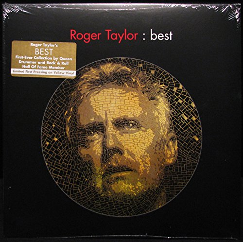 ROGER TAYLOR (QUEEN) - BEST LIMITED FIRST PRESSING ON YELLOW VINYL SEALED 18 TRACK 2 - LP 2014