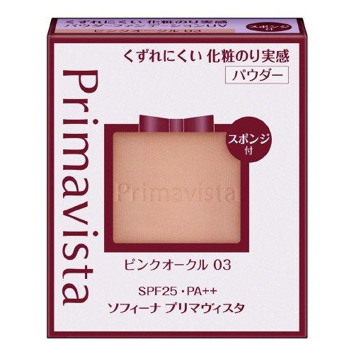プリマヴィスタ くずれにくい化粧のり実感パウダーファンデーション ピンクオークル03 レフィル