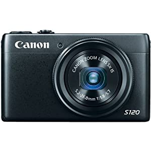 Canon PowerShot S120 12.1 MP CMOS Digital Camera with 5x Optical Zoom and 1080p Full-HD Video