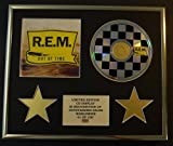 R.E.M./CD DISPLAY/LIMITED EDITION/COA/OUT OF TIME