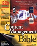 img - for Content Management Bible 1st edition by Boiko, Bob (2001) Paperback book / textbook / text book
