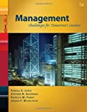 img - for Management: Challenges for Tomorrow's Leaders (with InfoTrac 1-Semester) book / textbook / text book