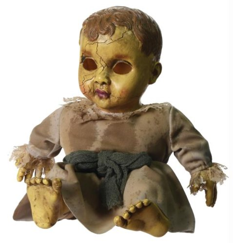 [HAUNTED DOLL WITH SOUND] (Halloween Props)