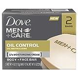 Dove Men Plus Care Oil Control Body and Face Bar, 4 Ounce
