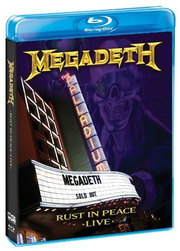 Megadeth: Rust in Peace Live [Blu-ray] by Shout Factory!
