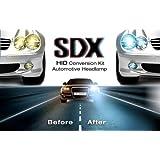 "SDX HID Headlights™ Xenon ""Slim"" Conversion Kit, 9006, 6000K"