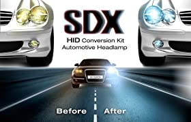 "SDX Xenon HID Headlight DC ""Premium"" Conversion Kits - 9004 (HB1) Single-Beam - 12000K"