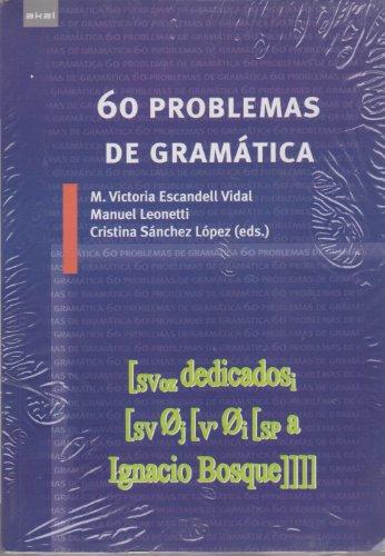 60 problemas de gramática (Linguistica (akal))