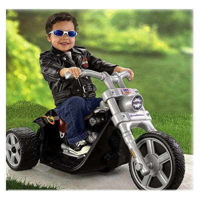 Fisher-Price Battery Powered POWER WHEELS Harley-Davidson Riding Toy
