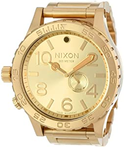 Nixon 51-30 Tide - Men's ( All Gold ) [Watch] Nixon
