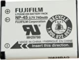 Fujifilm NP-45 Rechargeable Lithium-Ion Battery (3.7v 740mAh) for Finepix Z10fd Digital Camera