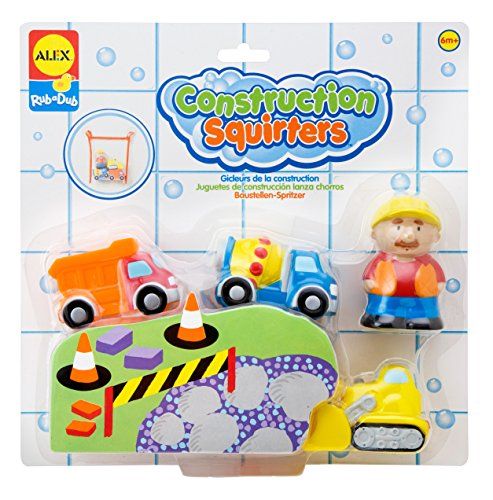 ALEX Toys Rub a Dub Construction Squirters