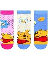 Disney - Winnie - Lot de 3 Chaussettes - Fantaisie - Coton - Mixte Bébé