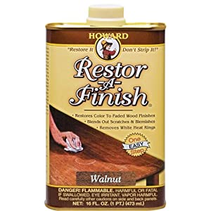 Howard RF4016 Restor-A-Finish, 16-Ounces Walnut