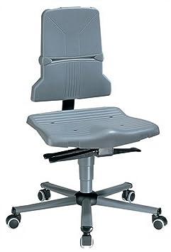 BIMOS-Sedile Technik inter sedia ufficio mobili GMBH & CO K S9813lavoro sedia girevole SintecB M. inclinazione seduta H.430-580mm BIMOS M. rotelle doppie