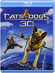 Cats & Dogs: The Revenge of Kitty Galore (Three-Disc Combo: Blu-ray 3D / Blu-ray / DVD / Digital Copy)