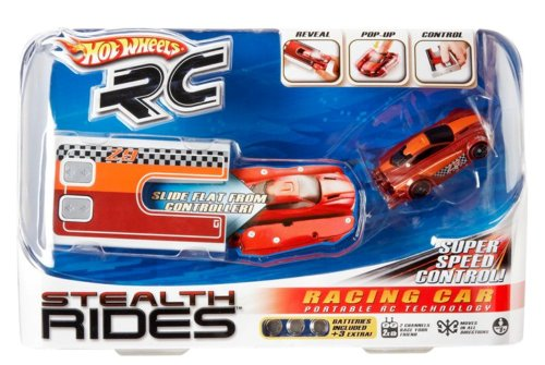 hot wheels r c stealth rides racing car red rc toys. Black Bedroom Furniture Sets. Home Design Ideas