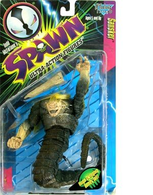 Spawn Series 6 > Sansker (Human Head Variant) Action Figure - 1