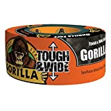 Gorilla Glue 6003001 Tough & Wide Tape, 2.88-Inch x 30-Yards