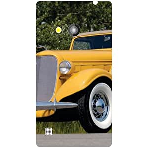 Nokia Lumia 720-Vintage Car Matte Finish Phone Cover