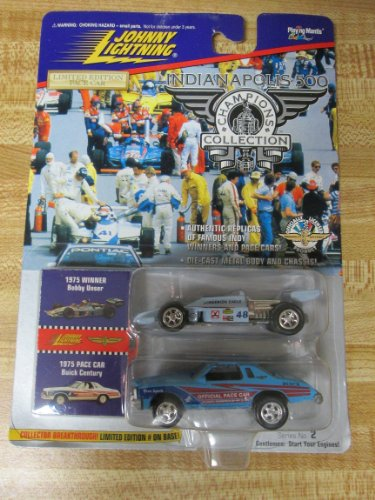 1996 Johnny Lightning 1975 Indy Winner Bobby Unser 1:64 scale