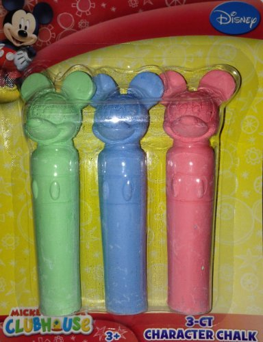 Mickey Mouse 3 Count Character Chalk - 1