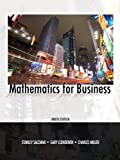 img - for Mathematics for Business (9th Edition) book / textbook / text book