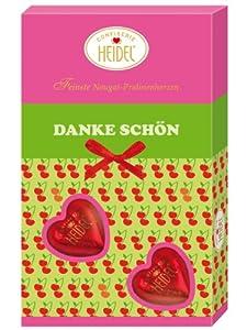 Confiserie Heidel Geschenkpackung Danke Schön, 70 g, 7er Pack (7 x 70 g)
