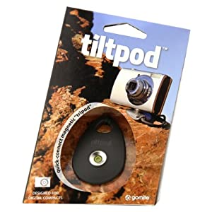 tiltpod - always-ready micro tripod for compact digital cameras