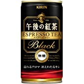 キリン 午後の紅茶 エスプレッソティー・ブラック無糖 190g×30本