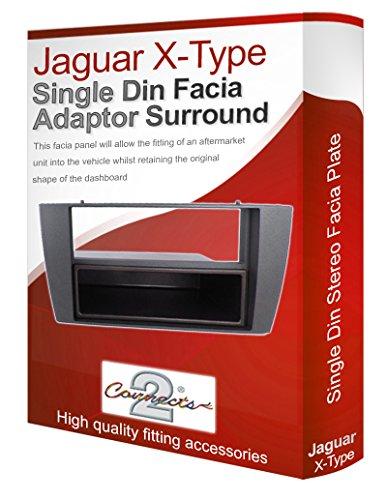 jaguar-x-type-mascherina-autoradio-pannello-adattatore-finiture-cd-surround