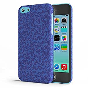 Koveru Back Cover Case for Apple iPhone 5C - Sapphire Lace