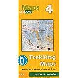 Georgia - Kazbegi (Caucasus) 1:50,000 Trekking Map # 4, GPS compatible